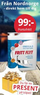 omega 3 fritt flyt